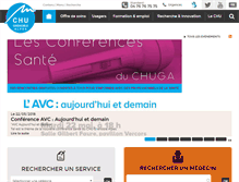 Tablet Preview of chu-grenoble.fr